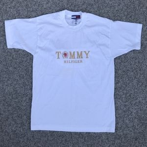 Tommy Hilfiger Embroidered Bootleg Tee